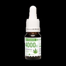 Ecosh Vitamiin D3 4000-IU tilk kanepiõliga 10ml