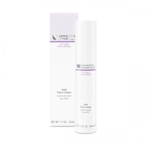 Janssen Cosmetics Aha Face Cream  puuviljahapetega kreem 50ml