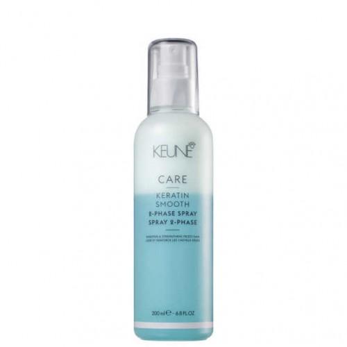 Keune Care Keratin Smooth 2-Phase Spray kahefaasiline spreipalsam 200ml