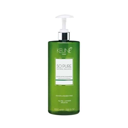 Keune So Pure Exfoliationg Shampoo kooriv šampoon 1000ml